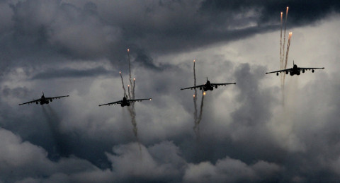 16.3.2015: Russia Begins Air Force Tactical Drills in Siberia