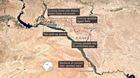 The BBC has uncovered details of a secret deal that let hundreds of IS fighters — including foreign militants — and their families escape from Raqqa in Syria. In exchange for freeing hostages, a convoy which stretched for miles, was able to leave the city freely — under the gaze of the US and UK-led coalition and Kurdish forces who control the city.