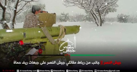 """In its report, CAR said a photo showed a US-backed Syrian rebel group, Jaysh al-Nasr, firing 9M111B missile that is identical to the one recovered from ISIS in Ramadi. The serial numbers on the ISIS missile and on one fired by Jaysh al-Nasr suggest that the two missiles were """"part of the same supply chain,"""" according to CAR's report."""