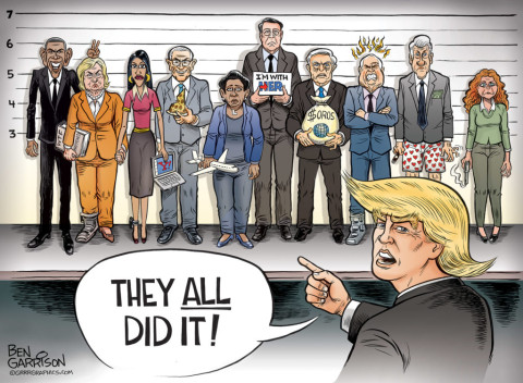 ben-garrison-police-lineup-trump-they-all-did-it