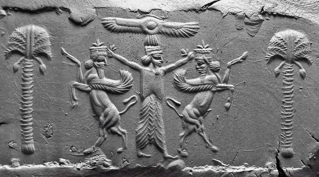 5th century BC, Darius-Achaemenid cylinder seal. The use of cylinder seals appears to have been restricted to officials of the royal administration during this period
