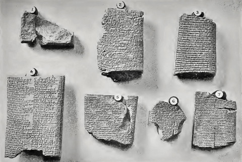 Enúma eliš, Babylonian Myth of Creation, 7 tablets