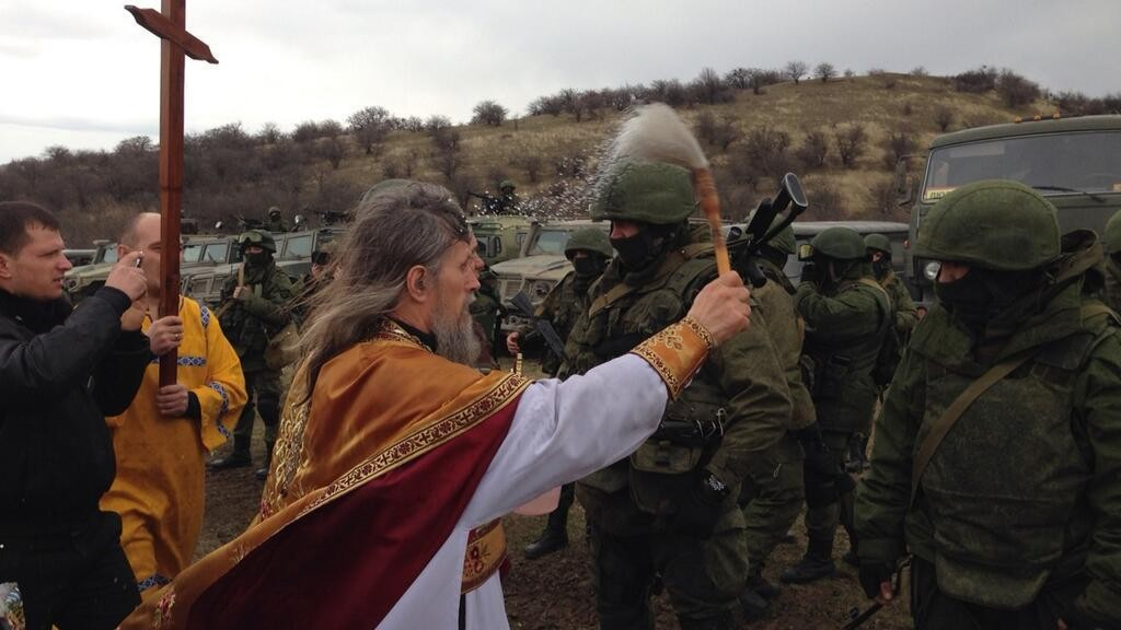 Catholic Church sends medieval religious fanatic order to Crimea