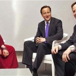 Clegg-Cameron's meeting with Dalai Lama, 2012-05 (Photo: Clifford Shirley)