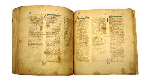 Codex Vaticanus, AD 350, censored by church