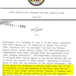 The declassified documents show that the Dalai Lama received a personal subsidy from the US government – a covert payment arranged by the CIA – of 180,000 US Dollars per year from 1959 through till at least 1974. To put this in a modern context 180,000 dollars in the 1950s would be worth nearly 1.5 million today, and 180,000 dollars in the seventies would be worth nearly 800,000 today.