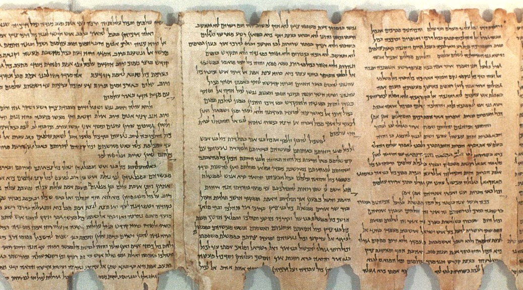 DEAD SEA SCROLL. The Manual of Discipline, Col. 2-4, Qumran Cave no. 1