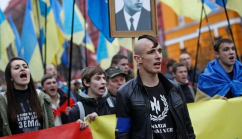 Euromaidan fascists sponsored by USA and EU