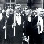 Franz von Papen (Front Left) heads Catholic Mass Procession