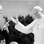 John Paul II+Jimmy Carter in White House, Satuday, Oct. 6, 1979.