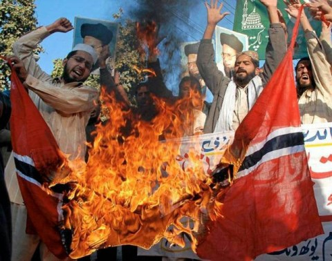 Muslims of Norway are now demanding a separate Islamic state and threaten terrorist actions if their demands are not met. Norway, 2013