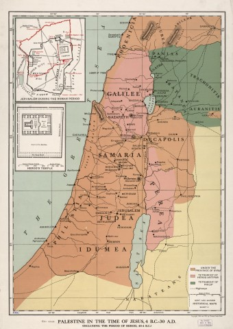 Palestine in the times of Jesus