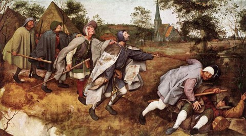 Pieter Bruegel the Elder, Blind Leading the Blind, 1568