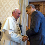 President Obama met Pope Francis at Vatican 2015-08-23