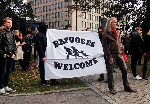 Refugees Welcome-jihadist in Europe