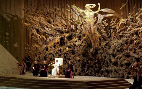 Vatican-Jesus being resurrected