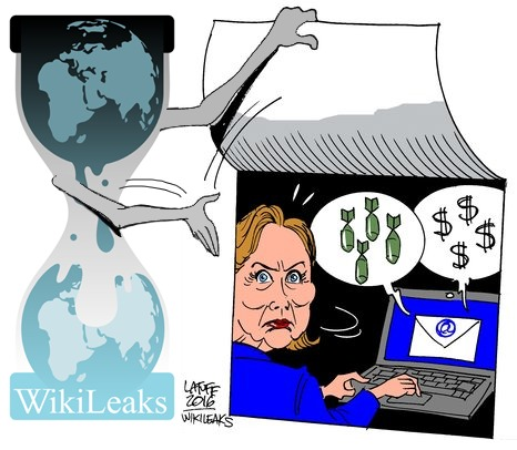 On March 16, 2016 WikiLeaks launched a searchable archive for 30,322 emails & email attachments sent to and from Hillary Clinton's private email server while she was Secretary of State. The 50,547 pages of documents span from 30 June 2010 to 12 August 2014. 7,570 of the documents were sent by Hillary Clinton.