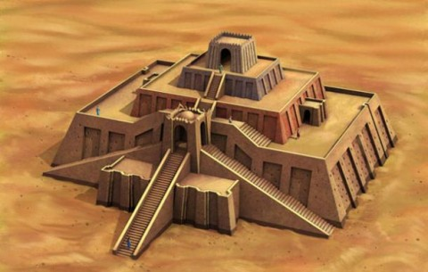 Ziggurat of King Ur-Nammu, Ur, ca. 2100