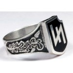2nd SS panzer division silver ring