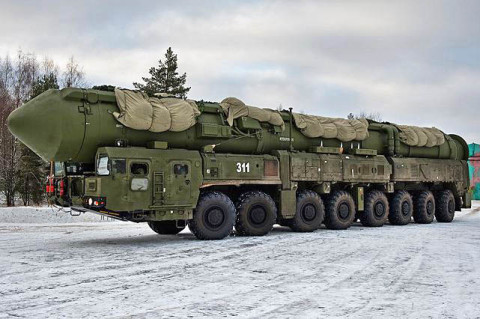 RS-24 Yars Nuclear Intercontinental ballistic missile
