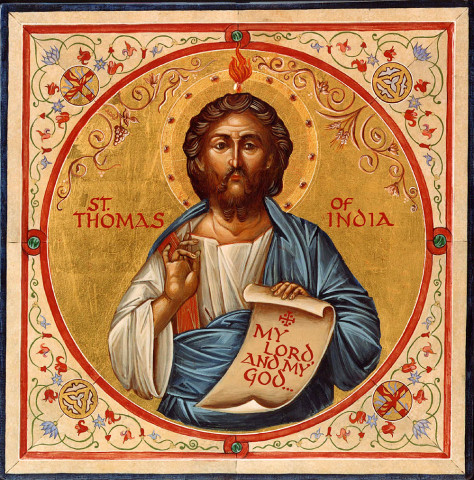 St. Thomas, the apostle of India
