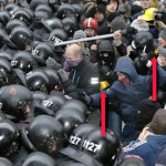 Ukraine, Maidan fascists, January 2014
