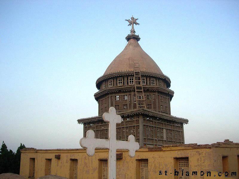 Deir Anba-Balamūn (klášter sv. Palamon). Al-Qasr, El-Sayad, Nagaa Hammadi, Qena, Egypt