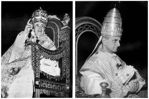 PopesPiusXIIandPaulVI